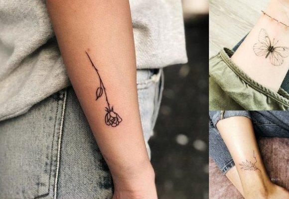 Małe Tatuaże 2019 Galeria Niezwykłych Wzorów Dla Dziewczyn