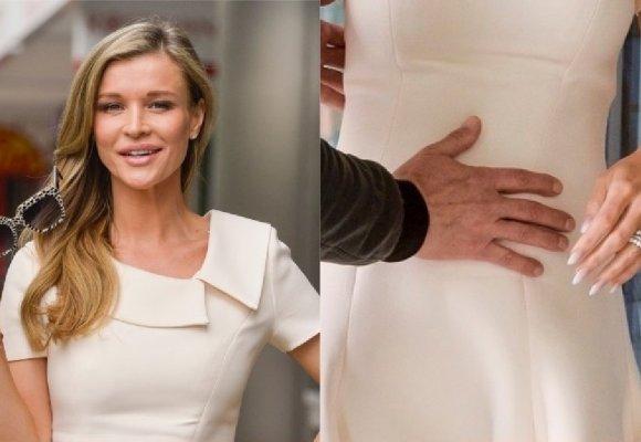 Joanna Krupa prezentuje ciążowy brzuszek przed DDTVN [ZDJĘCIA]