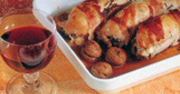 Filet drobiowy w kasztanach