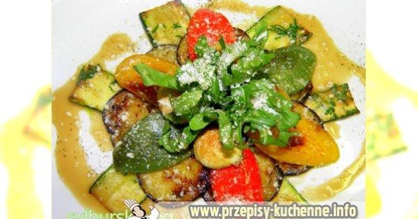 Marynowane warzywa z parmesanem