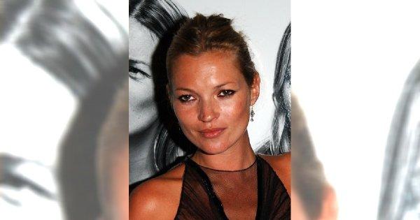 Kate Moss - najsłynniejsza brytyjska modelka