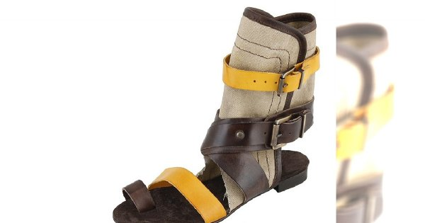 Sandałki globetrottera