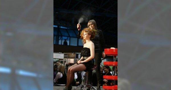 Międzynarodowe targi fryzjersko - kosmetyczne