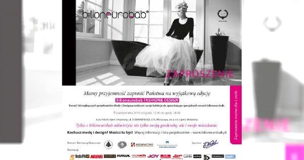 Bilioneurobab - święto mody i design