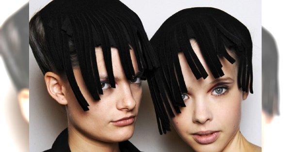 Najdziwniejsze fryzury z pokazów