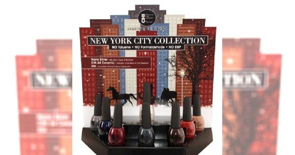 Nowy Jork na paznokciach