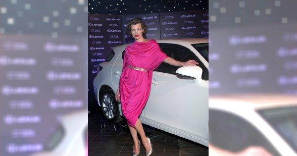 Milla Jovovich na Lexus Fashion Night 6