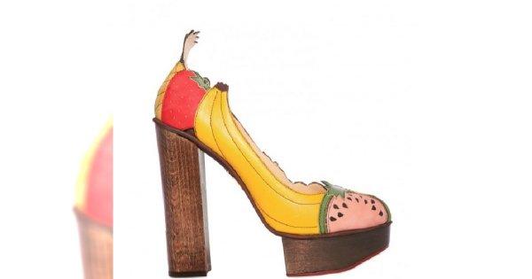 Projektanci mody pokochali owocowe wzory