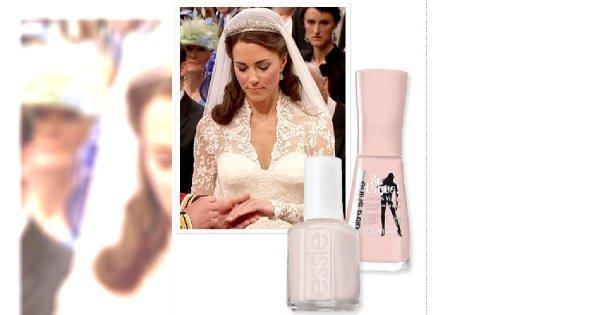 Ślubny manicure po królewsku