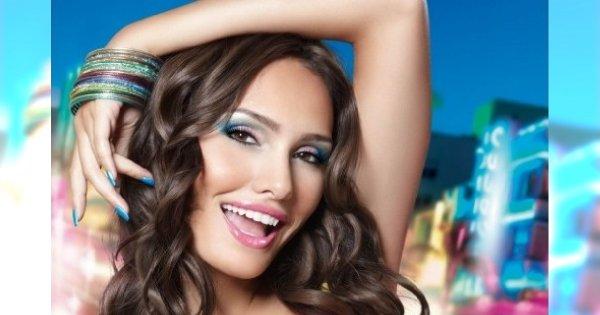 Kolorowe wariacje w makijażu