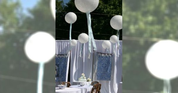 Dekoracje sali weselnej na każdą kieszeń