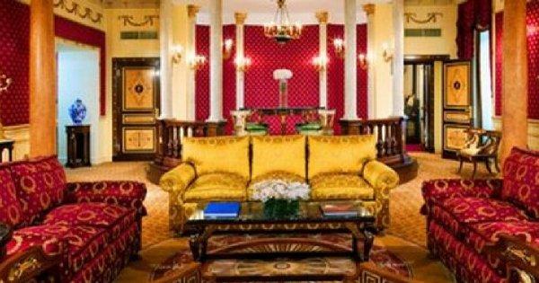 Najdroższe pokojowe hotelowe świata!