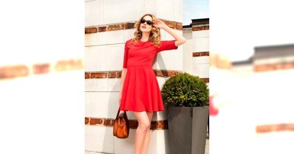 Nic nie działa jak czerwona sukienka