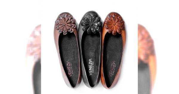 Jesienne buty i torebki Venezia