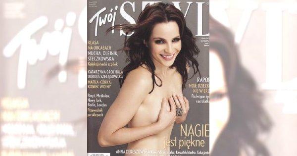Anna Dereszowska miała anoreksję?