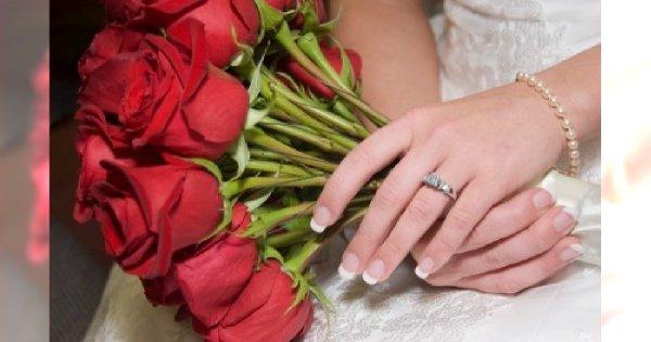 Manicure na ślub