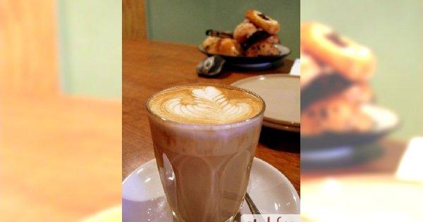 Kawa na mleku sojowym