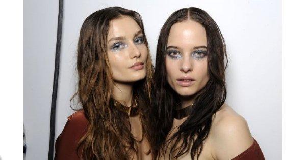 Efekt mokrych włosów