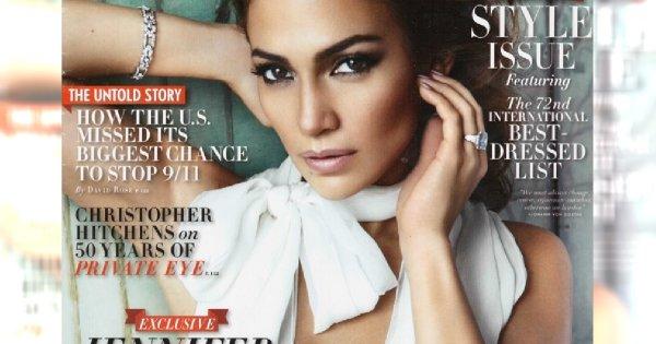 Jennifer Lopez w Vanity Fair