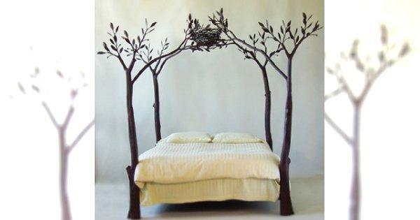 HIT: Leśne łóżko