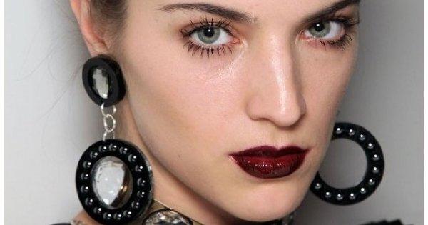Dominujący element w makijażu: usta