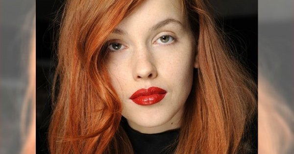 Ogniste fryzury - rude włosy