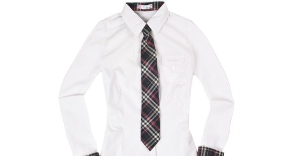 Szkolny mundurek według Cropp'a