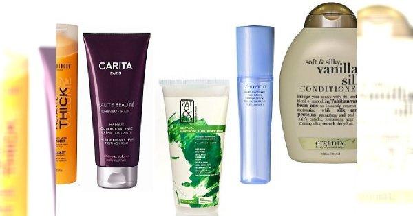 5 odżywek do pielęgnacji włosów zimą