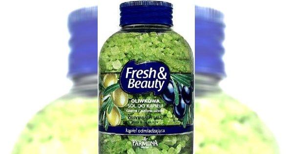 Testujemy: oliwkowa sól do kąpieli Farmona