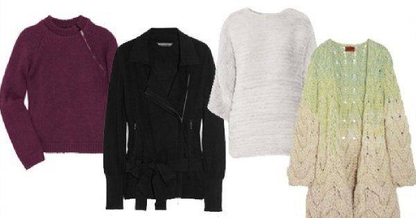 7 luksusowych swetrów na jesień 2011