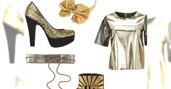 Ubrania ze złota