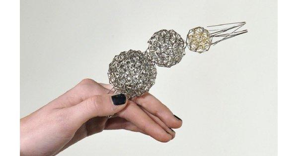 Druciana biżuteria Karen Ann Dicken