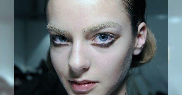 Makijaż dolnej powieki u Haute