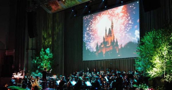Koncert mikołajkowy Disneya
