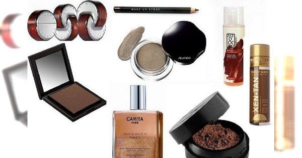 TOP - brązowe kosmetyki