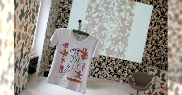 Michael Roberts One Tshirt jesień/zima 2011/2012