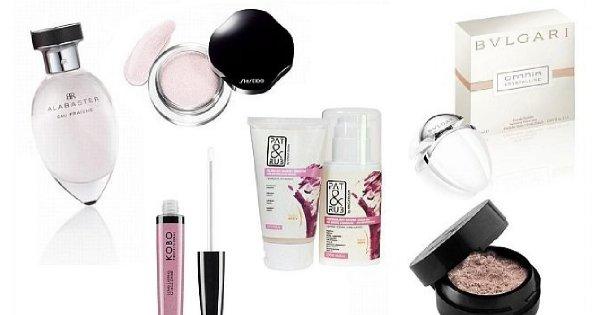 TOP - różowe kosmetyki