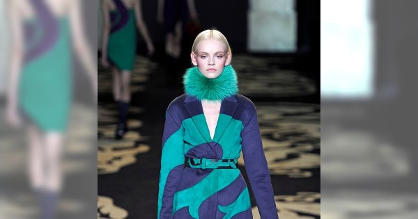 Barwny Versace jesień/zima 2011/2012