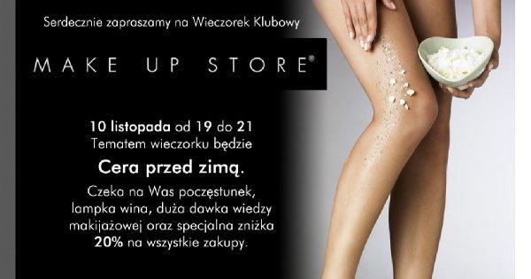 Porozmawiaj o makijażu z Make Up Store