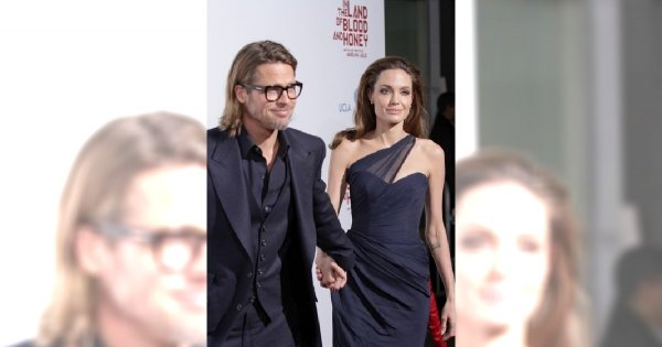 Angelina Jolie i Brad Pitt jak Fiona i Shrek