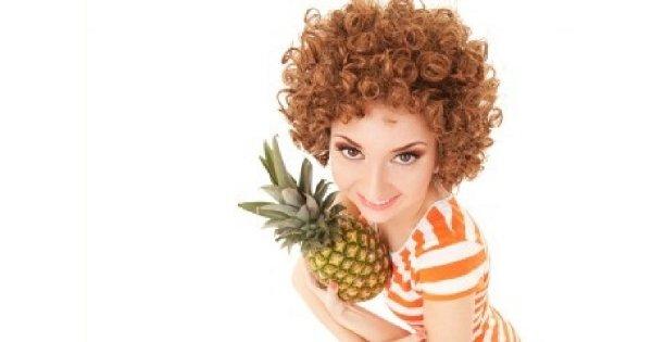 Moc ananasa dla urody!