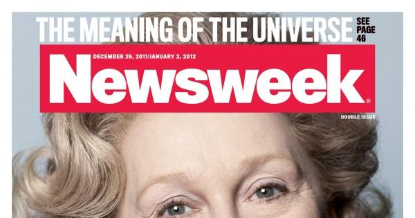 Meryl Streep na okładce Newsweeka i Vogue'a