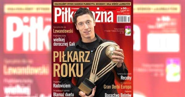 Robert Lewandowski piłkarzem roku 2011!