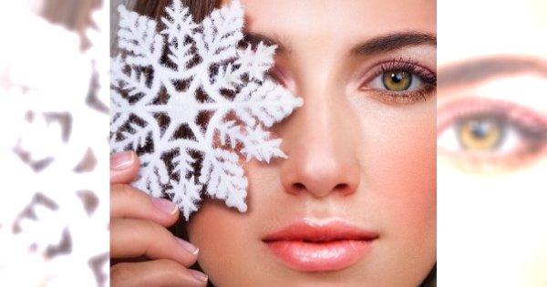 Zimowy makijaż krok po kroku