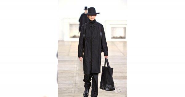 Minimalistyczny Dior Homme dla niego jesień/zima 2011/2012