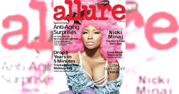 Kolorowe włosy - stylizacja Nicki Minaj