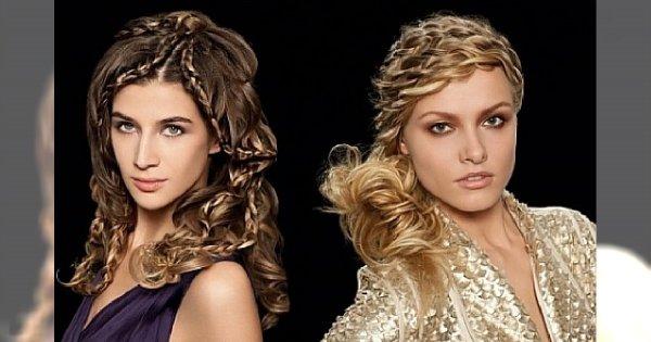 Awangardowe uczesania z długich włosów od L'Oréal Professionnel