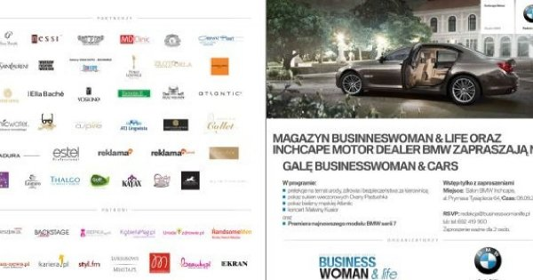 Gala Businesswoman & Cars