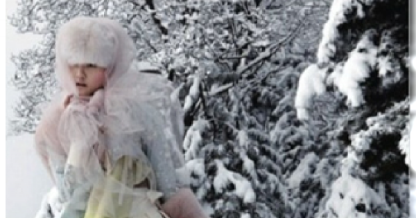 Zima według Vogue Korea