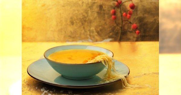 Halloween w kuchni, czyli zupa z dyni. Smacznego!